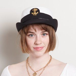 Vintage Sailor Top Hat